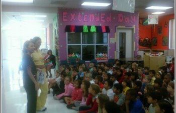 Avalon Dental Team Providing Dental Education At Austin Parkway Elementary Sugar Land TX