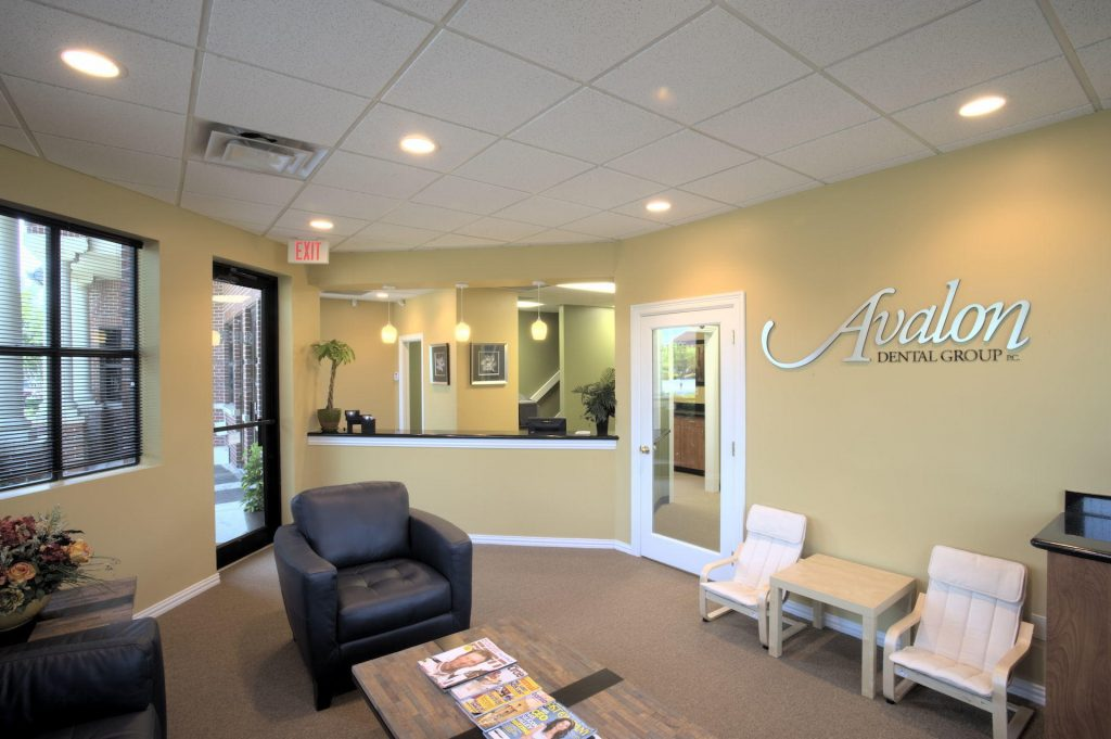 Reception Area at Avalon Dental Sugar Land TX